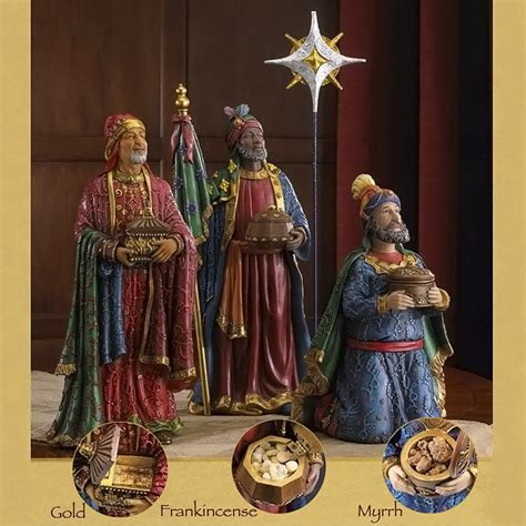 collectibles nativity sets gifts deluxe  kings