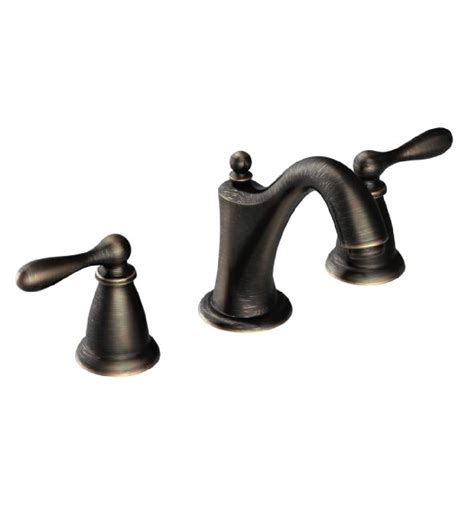 kitchen and bath faucets moen ca84440brb caldwell 4 or 8 two handle high arc
