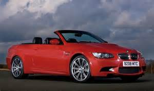 BMW M3 Convertible Red