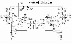 Audio Amplifier Circuit Design Stk439