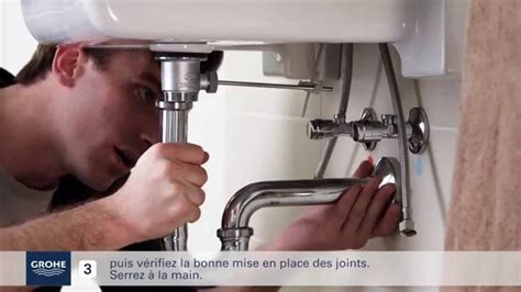 comment installer facilement  mitigeur lavabo youtube