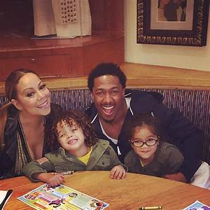 Mariah Carey & Nick Cannon Reunite With Their Twins for ...