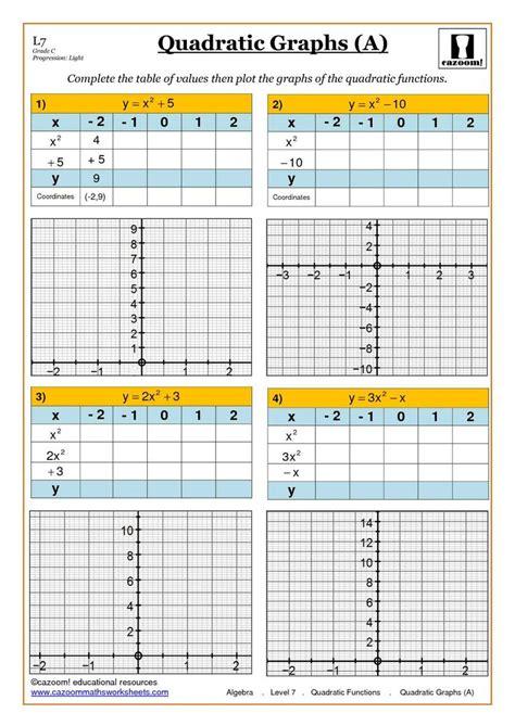 algebra worksheets ks3 year 7 maths revision ks3 year 8