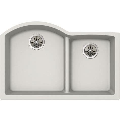 quartz undermount kitchen sinks elkay premium quartz undermount composite 33 in 4476
