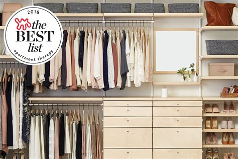 Wardrobe Systems by The Best Closet Systems To Organize Your Wardrobe