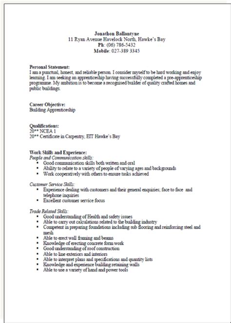 How To Write A Detailed Cv by Cv Formats And Exles