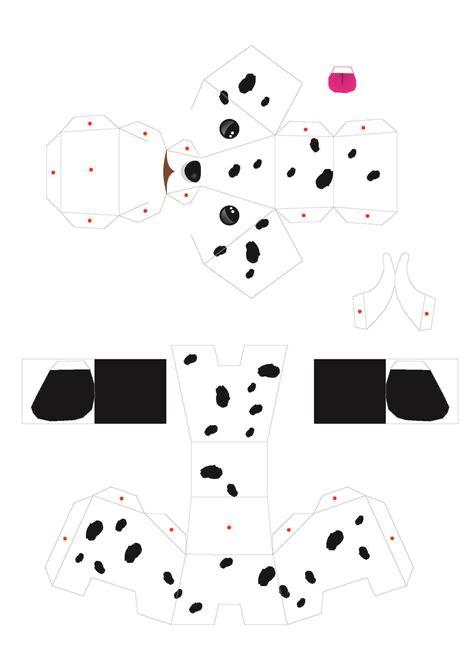 perritos 3d para imprimir y armar gratis pi 209 atas manualidades con sobres de papel y