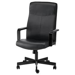 Malkolm Swivel Chair Wheels Millberget Swivel Chair Bomstad Black Ikea