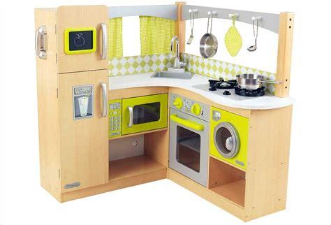 jouets cuisine cuisine d 39 angle en bois jouet cuisine kidkraft et