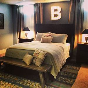 basement bedroom for a 15 year old boy spaces by niki With bedding ideas for teenage boys