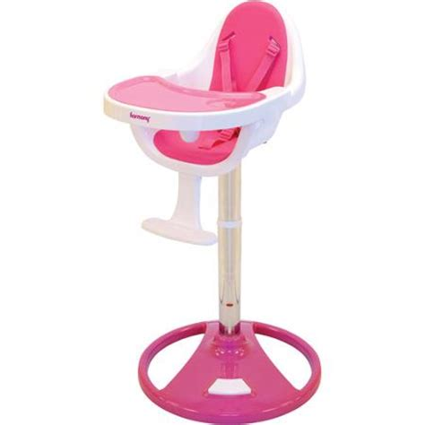 buy harmony ryze pedestal high chair pink in cheap