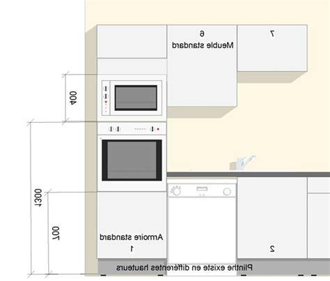 dimension meuble de cuisine standard id 233 es de d 233 coration int 233 rieure decor
