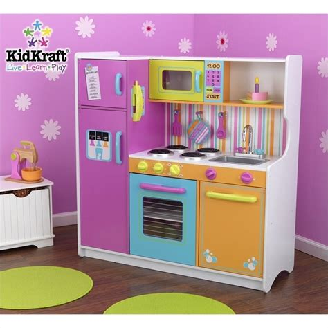 janod cuisine bois kidkraft deluxe big bright play kitchen 53100
