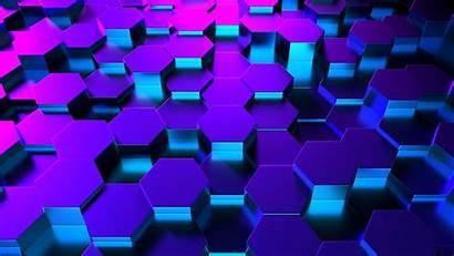 3d 4k Hexagons Wallpapers Backiee
