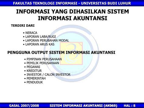 Sistem informasi apa saja yang termasuk dalam sekumpulan sistem informasi manajemen? PPT - SISTEM INFORMASI AKUNTANSI PowerPoint Presentation ...