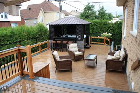 custom trex decks patios contemporary patio montreal by patio deck