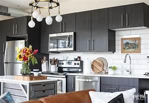 Drab, To, Fab, Apartment, Kitchen, Decor