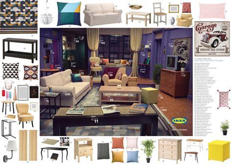 ikea recreates iconic  simpsons stranger  friends living rooms