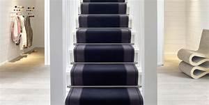 Tapis En Bois : habiller son escalier avec une moquette saint maclou ~ Teatrodelosmanantiales.com Idées de Décoration