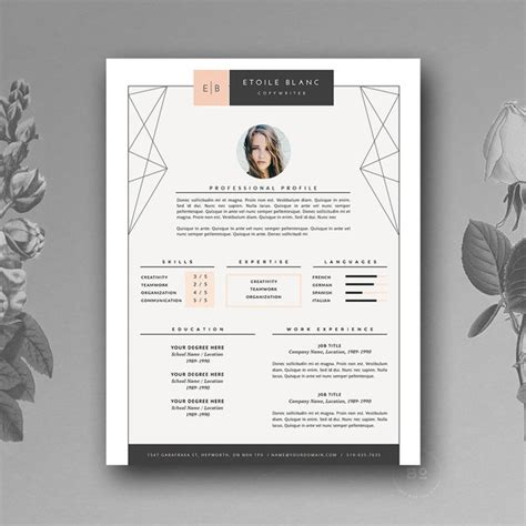 50 creative resume templates you won t believe are