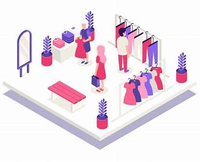 Shopping Mall Positioning Retail Indoor Smart Senion