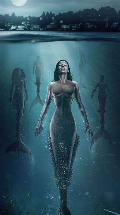 Siren Mermaids Season Scary Wallpapers Mermaid 4k