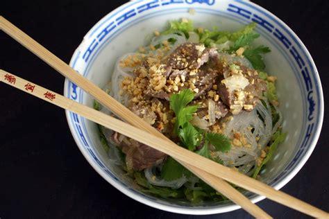 cuisine vietnamienne recette bo bun recette de bo bun par chef simon