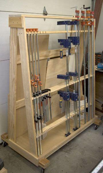 runnerduck wood clamp rack plan  step  step