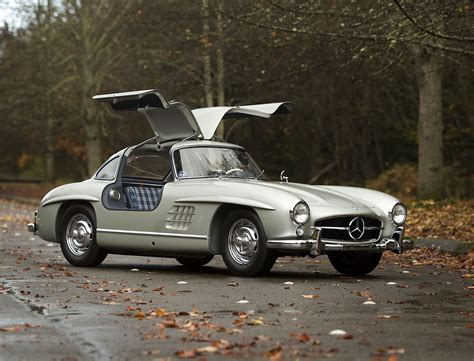 Mercedes Gullwing by 1955 Mercedes 300sl Alloy Gullwing Sells For 4 62