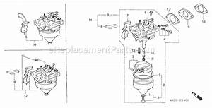 Honda G200 Parts List And Diagram