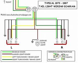 Chevrolet Pickup Tail Light Wiring Diagram