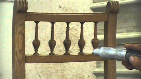 mesure d une chaise decapage sablage par aerogommage d 39 une chaise en bois ciree
