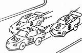 Coloring Racing Pages Barrel Printable Popular sketch template