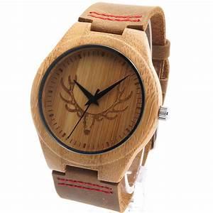 Uhren Aus Holz : bobobird rt0459 herren hirschkopf design buck bambus holz uhren luxus holz bambus uhren mit ~ Whattoseeinmadrid.com Haus und Dekorationen