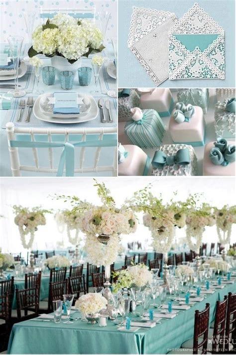 blue theme wedding baby shower and bridal shower ideas tiffanyblue theme