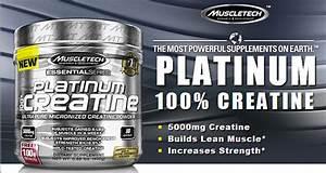 Muscletech Essential Series Platinum 100  Creatine Reviews