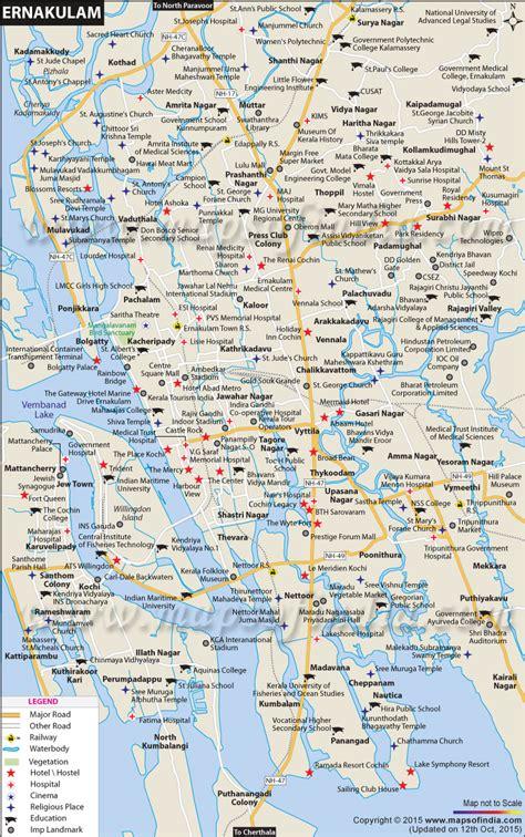 ernakulam city map