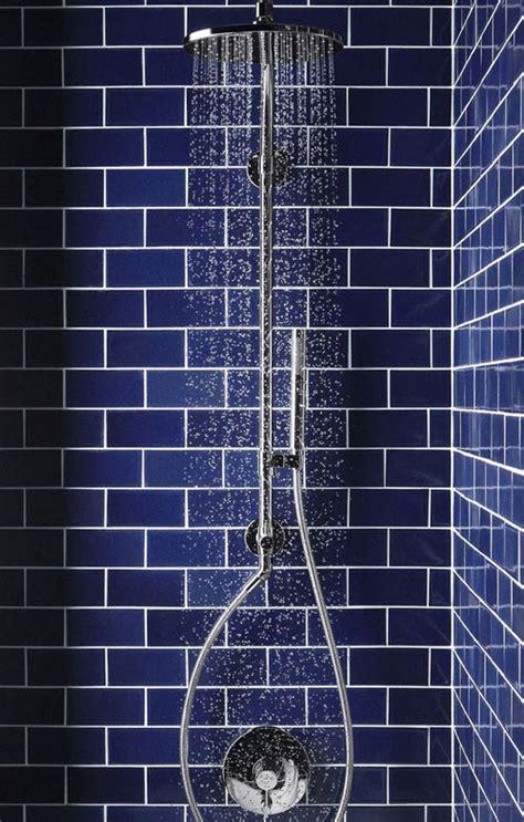 dark blue bathroom tile ideas  pictures