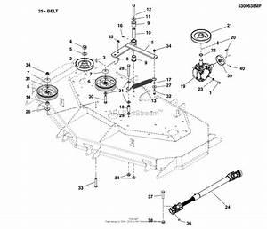 26 Simplicity Mower Deck Belt Diagram