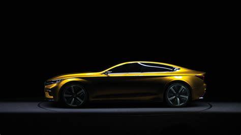 Wallpaper Roewe Vision-R, sedan, yellow, Cars & Bikes #10523