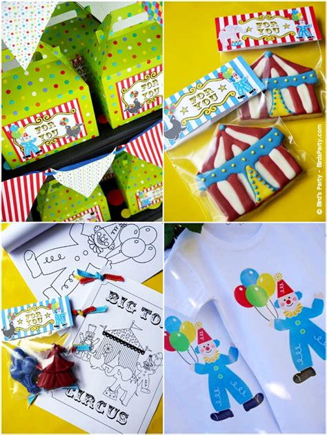 kids joint big top circus carnival birthday party