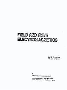 Field And Wave Electromagnetics - 2nd Edition