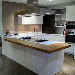 cuisine house pinterest With installer plan de travail cuisine