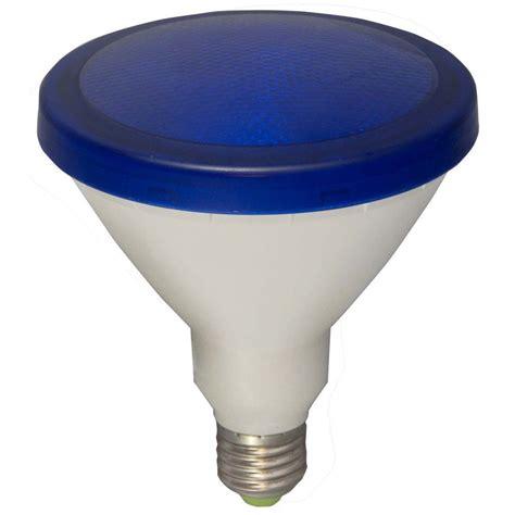 led blue light bulb bell 05653 15 watt par38 outdoor blue led reflector light bulb