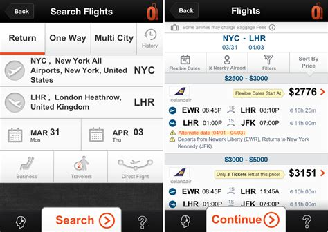 cheapoair phone number 5 free flight booking apps for iphone