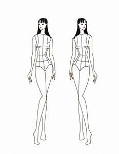 como desenhar croquis de moda 9 passos umcomo With textiles body templates