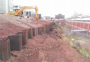 Hauraki Piling Ltd: Retaining Piles - Steel Sheet Piles