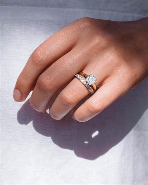 how to match your wedding band to your engagement ring onefabday