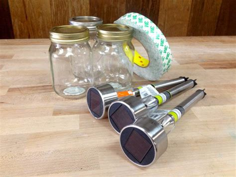 dollar store crafts how to make jar solar lights