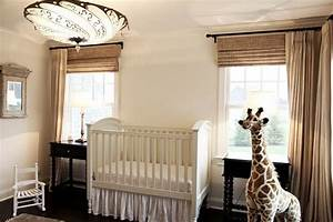 Baby Boy Room Design Ideas Outside Mount Bamboo Roman Shades Baby Room Neutral
